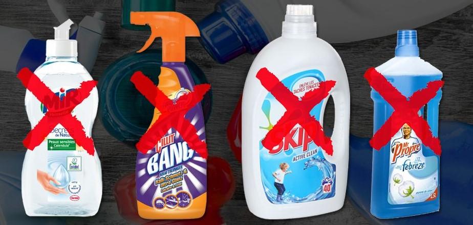 produit ménager toxique