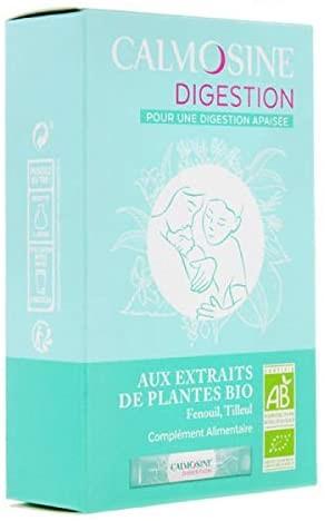 LAUDAVIE Calmosine - CALMOSINE digestion - Boisson apaisante et digestive aux extraits de plantes BIO - Lot de 3 Boites de 12 dosettes de 5 ml (3), 43,40€