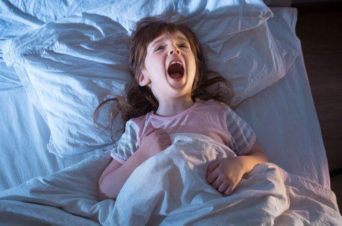 terreurs nocturnes du bébé