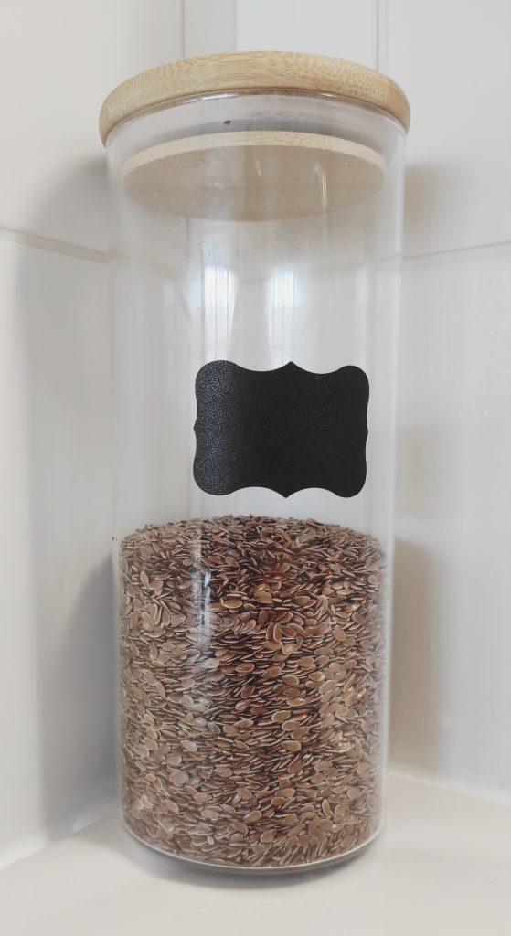 des graines de lin
