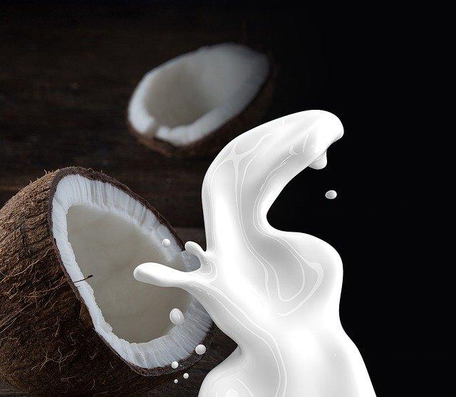 lait de coco pour shampooings